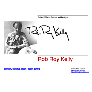 website for master teacher Rob Roy Kelly