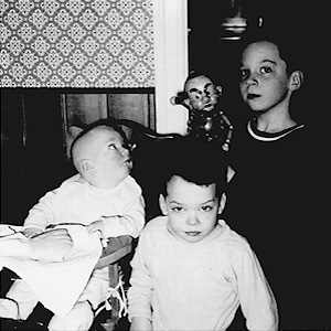 Byrne boy siblings 1955